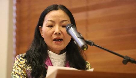 Zhang Huijing en la Universidad de los Andes